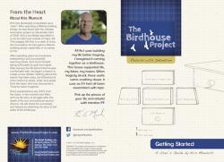 Birdhouse Project Facilitator's Guide with Cardboard Birdhouse Kits
