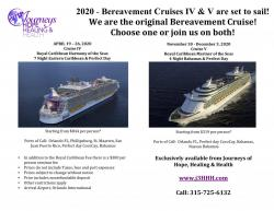 Learn more about Grieving Seminars at Sea on The Bereavement Cruise