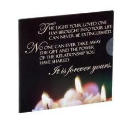 Light A Candle Single CD- Card/ Self Mailer