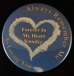 Always Remember Me Magnet or Pin
