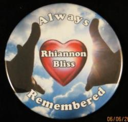 Always Remembered Hands Magnet or Pin