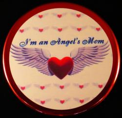 Angels Wing Magnet or Pin