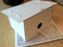Snap Together Birdhouse Kit (QTY 1)