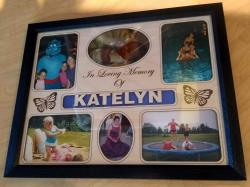 Personalized Engraved Memorial Insert and Frame for Photos