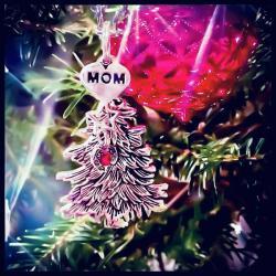 Guardian Angel On My Tree Ornament