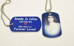 Memorial Dogtag Necklace