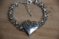 Never Far From My Heart Bracelet