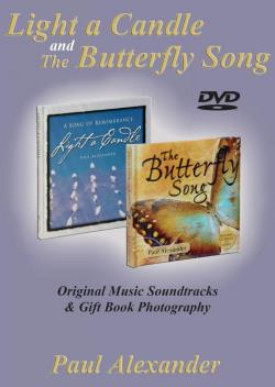 DVD, Light A Candle & The Butterfly Song , photography and music
