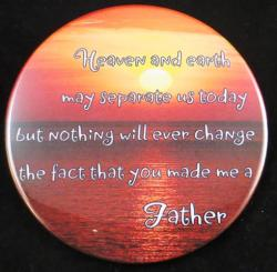 Heaven and Earth Magnet or Pin
