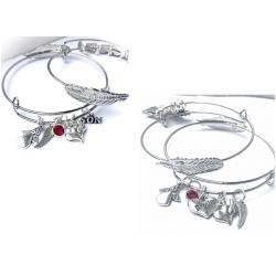 Guardian Angel Forever Feather Bangle