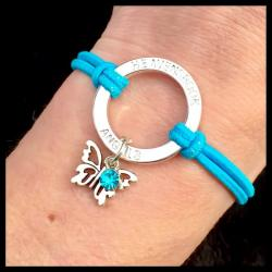 FlutterBye Birthstone HALO Bracelet