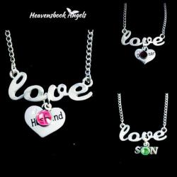 Guardian Angel Love Necklace