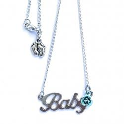Baby Rose Necklace