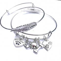 Man's Best Friend Pet Angel Bangle
