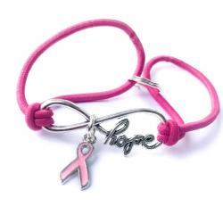 Infinite Hope Breast Cancer Awareness Bracelet
