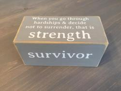 Survivor Quotablock