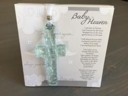Baby in Heaven Cross