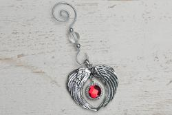 Angel Wings Birthstone Ornament