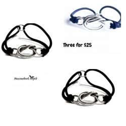 Three for $25 Forget Me Knot Bracelets