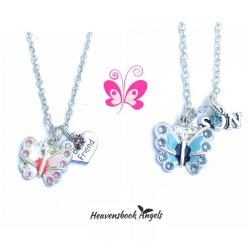 Guardian Angel Flutterbye Necklace