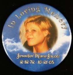 In Loving Memory Photo Magnet or Pin