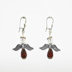 Angel Love Birthstone Earrings