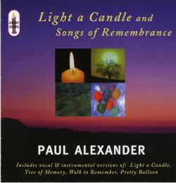 music for candlelighting services, grief support