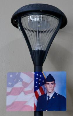 Solar Memorial Light- Photo Option
