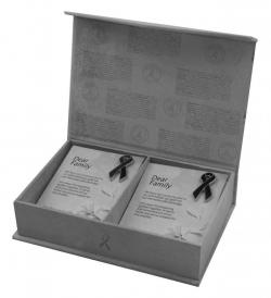 Family Box Set of mourning symbols