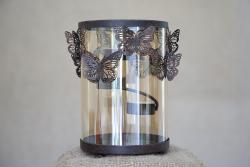Butterfly Hurricane Tealight Candleholder