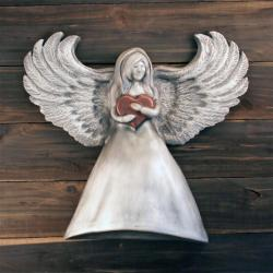 ANGEL WITH HEART- Cremation Urn Sculpture