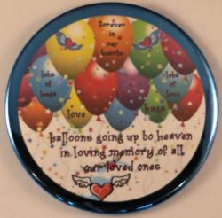 Balloon Release Magnet or Pin