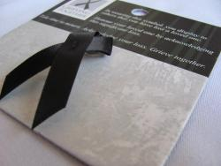 Individual mourning ribbon