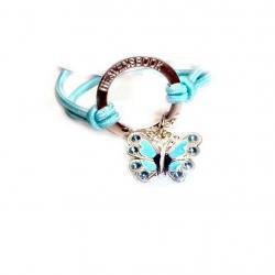 Blue FlutterBye Halo Bracelet