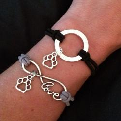 Pet Angels Infinity Halo Bracelet Stack