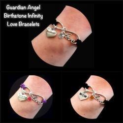Guardian Angel Infinity Love Bracelet