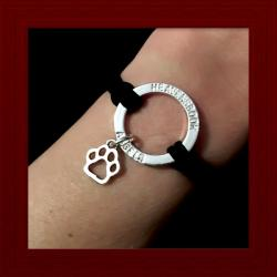 Dog Paw Halo Bracelet