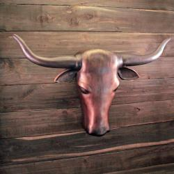 LONGHORN- Cremation Urn Sculpture