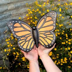 MONARCH BUTTERFLY- Cremation Urn Sculpture