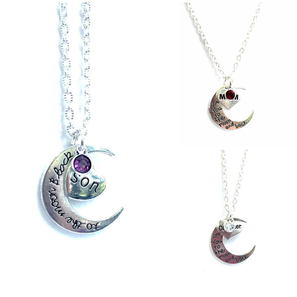 Guardian Angel to the moon and back Memorial Symapthy EarringsMothers  Gift