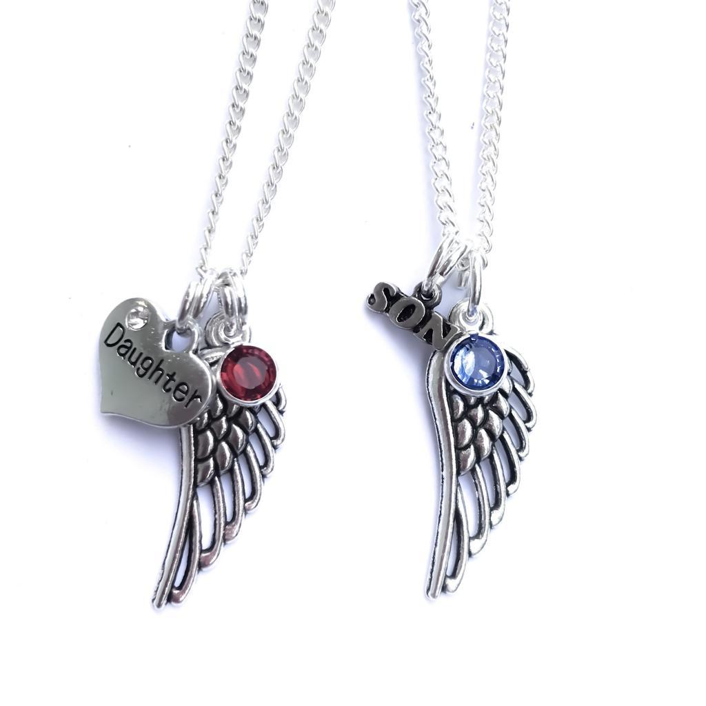 65e97e25d3 Guardian Angel Wing Necklace | The Grief Toolbox