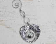 Angel Wings Photo Ornament