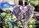 Heavenly Angel Wings Ornament
